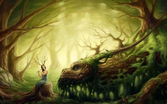 wood-dragon